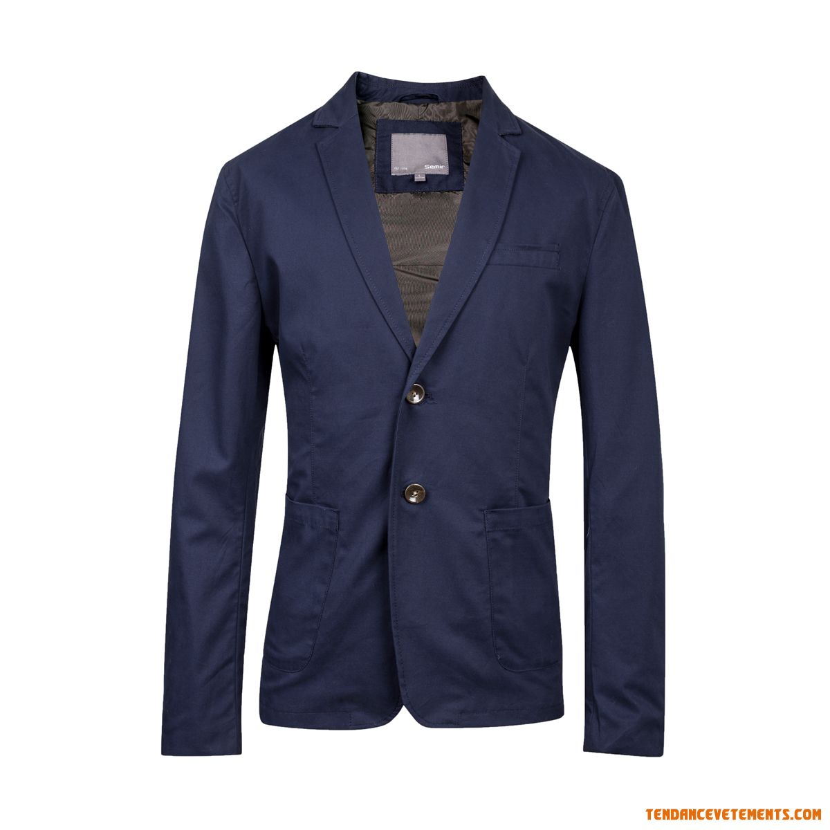 Blazer Homme Bleu Jaune 2015 Automne Fashion Simple Mode