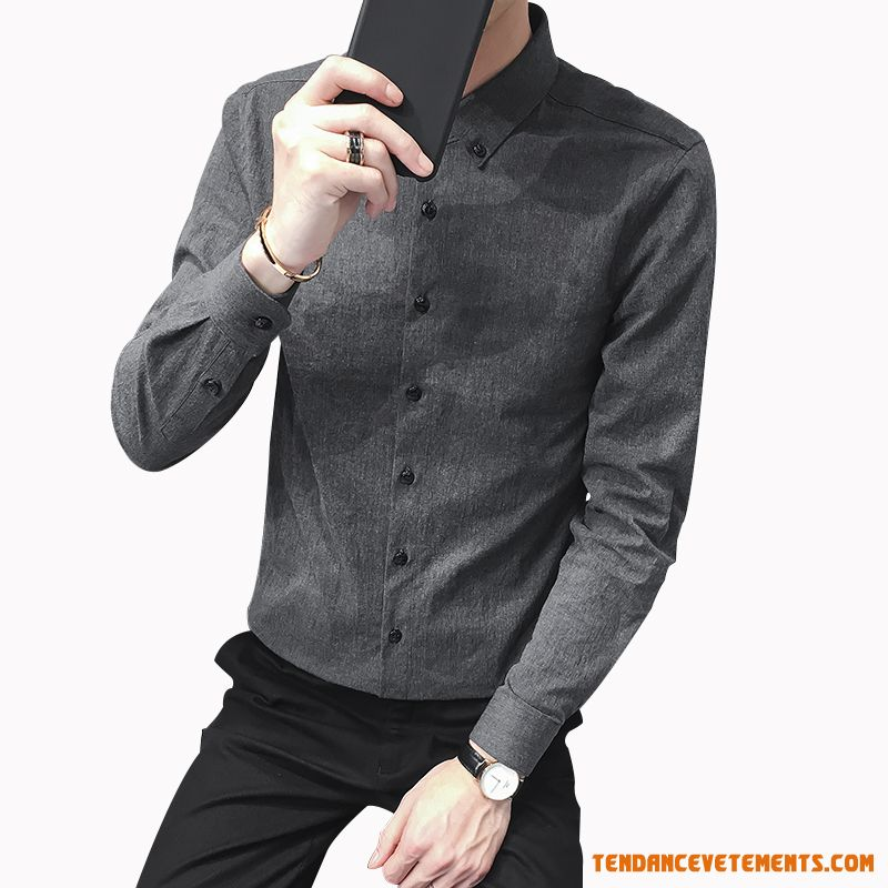 Chemise Longues Beau Jeunesse Tendance Ultra Homme Peachpuff