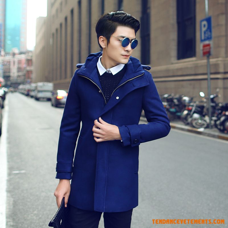 manteau homme bleu parka kaki hiver chic slim soldes en ligne. Black Bedroom Furniture Sets. Home Design Ideas