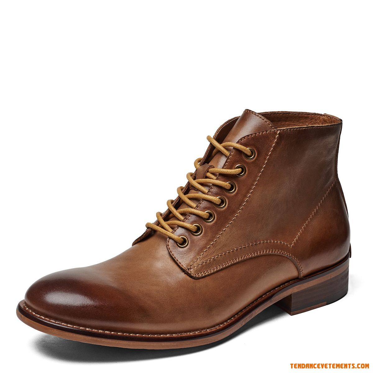 Rétro Bottes Martin Angleterre Homme Mode Bronzage